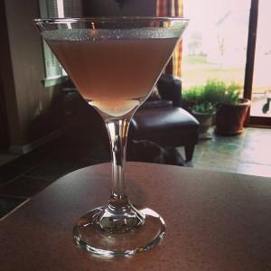Lavender Pear Martini 2