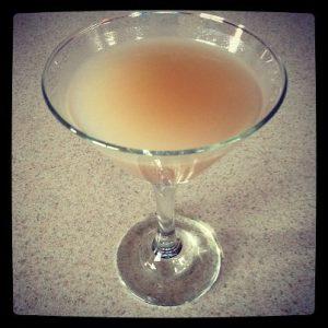 Lavender Pear Martini