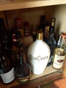 6. The liquor cabinet