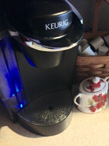 7. The coffee maker